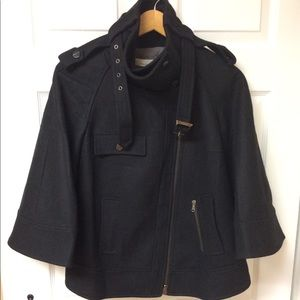 Pinko wool moto jacket